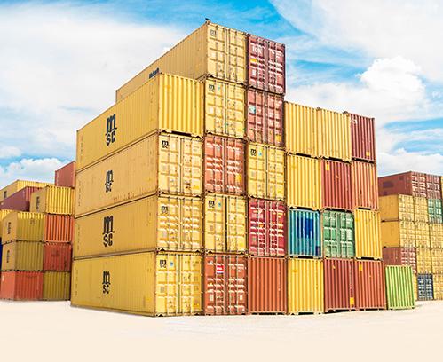 Доставка контейнеров